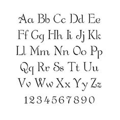 Free Printable Alphabet Stencil Letters Template Art Crafts