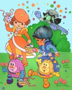 Rainbow Brite Easter - watch out for LURKY!!!