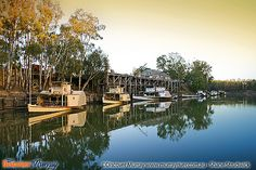 Murray River, Echuca paddle steamers by Discover Murray, via Flickr