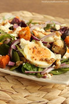A warm, sweet and crunchy salad with earthy spices and a honey mustard dressing that adds an extra zing to this colourful salad. Perfect for...