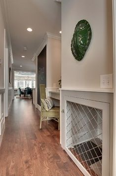 Parade of Homes Spring 2013 - contemporary - hall - minneapolis - Great Neighborhood Homes  --  Love the built in kennel!