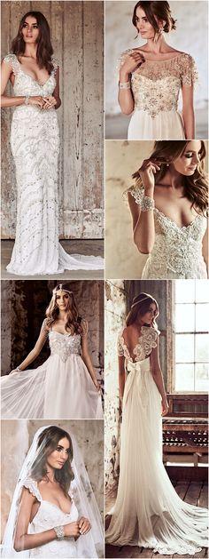 Anna Campbell Wedding Dress Eternal Heart Collection