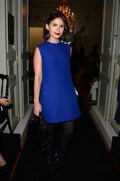 Miroslava Duma - PFW: Arrivals at the Valentino Show