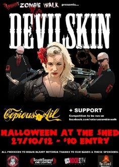 Halloween With Devilskin Live - The Shed, Rotorua