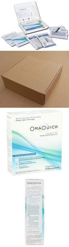 Other Medical Monitoring: Orasure Oraquick Hiv-1 And Hiv-2 Home Test Kit Fda Approved-New Discreet Shipping -> BUY IT NOW ONLY: $34.67 on eBay!