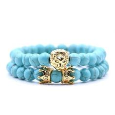King Lion Bracelet Charm Crown Couple Braclet 5 Kinds Of Natural Stone Bead Braslet Men Hand Jewelry Accessories Metal Color Brown Couple Bracelets, Bracelets For Men, Hand Jewelry, Metal Jewelry, Handmade Bracelets, Beaded Bracelets, Lion Bracelet, Jewelry Accessories, Women Jewelry