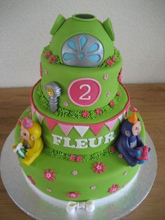 teletubbie cake ideas - Google Search More
