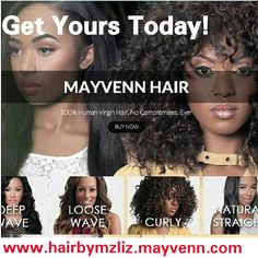 Get Yours Today! Go To my website for Good Quality Hair Shop Now:www.hairbymzliz.mayvenn.com