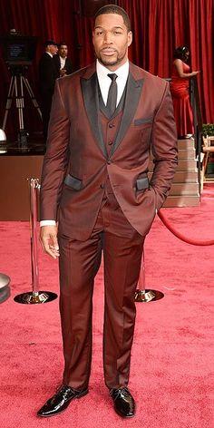 Michael Strahan #Oscars2014 #Oscars #STYLAMERICAN