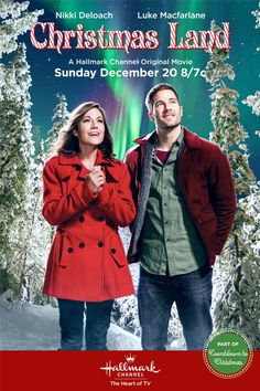 """Its a Wonderful Movie - Your Guide to Family Movies on TV: Hallmark Channel Christmas Movie """"Christmas Land"""""""