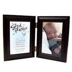 Personalized Count My Blessings Godparent Godfather Black Bi-Fold Picture Frame Engraved Gifts, Personalized Gifts, Godparent Gifts, First Communion Gifts, Photo Blanket, The Godfather, Gift Baskets, Photo Jewelry, Blessings