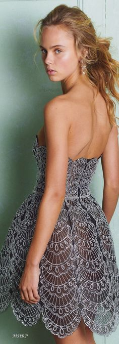 Strapless Dress, House Styles, Dresses, Fashion, Party, Oscar De La Renta, Trends, Strapless Gown, Vestidos