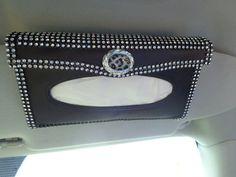 Hey, I found this really awesome Etsy listing at https://www.etsy.com/listing/251760558/bling-car-visor-tissue-holder