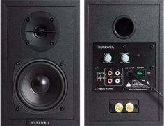 Caixa de Som Kurzweil KS-40a - Monitores de Studio Novo