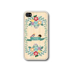 Phone Case Woodland Illustration iphone 4 case iphone by CaseHive, $16.99