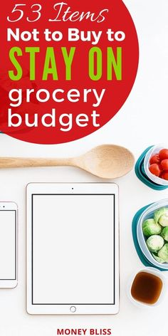 Learn how to grocery shop on a budget. Save money by not buying these items. These grocery money saving tips will save you thousands. Improve your budget and live below your means with these frugal living tips. #grocerybudget #shop #moneybliss Save Money On Groceries, Ways To Save Money, Money Saving Tips, Save Yourself, Improve Yourself, Living Below Your Means, Frugal Living Tips, Budgeting Money, Budget Meals