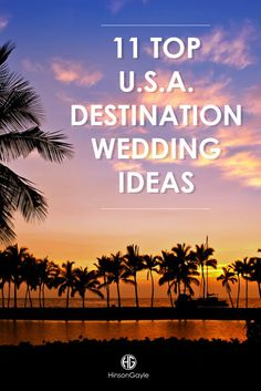 Are you interested in a destination wedding? Whether you dream of getting married by the sea, in the mountains, or anywhere in between, we've got something for everyone on our list.
