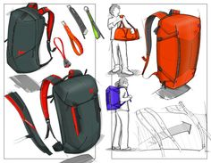 Gregory packs by Brad Meyer at Coroflot.com #id #industrial #design #product #sketch