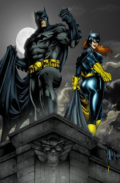 Batman and Batgirl by ~Ta2dsoul on deviantART