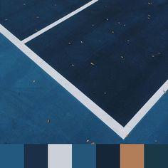 Found palette  found geometry from @aschlangen | #foundpalettes