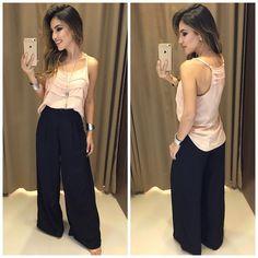 Regata Daniele | Pantalona Larissa Compras on line: www.estacaodamodastore.com.br Whats app: (45)99820-6662 - Andreia #VAREJO ☎️SAC: (45)3541-2940 ou 3541-2195 E-mail: vendas@estacaodamodastore.com.br
