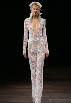 38 Stunning Fall Looks from Bridal Fashion Week - Naeem Khan from InStyle.com