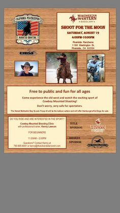 Cowboy Mounted Shooting Event you shouldn't miss! Old West, Silver Dollar, Winchester, No Worries, Ranch, Old Things, Public, Baseball Cards, Sports