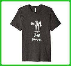 Mens Weightlifting to Stay Sane Medium Dark Heather - Workout shirts (*Amazon Partner-Link)