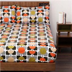 This striking retro-inspired bedding range from our favourite designer, Orla Kiely, is guaranteed to add a touch of colour and something a little different to your bedroom.