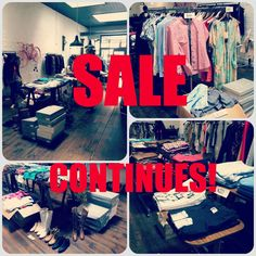 IT'S NOT OVER YET! The Sale continues at our Chapel St with LOTS of great items, be sure not to miss out!