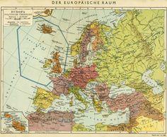 EUROPA. POLITISCHE ÜBERSICHT. 1941 Wehrmacht atlas