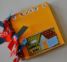 ScrapbookStuffNmore creates scrapbook albums and pages, fleece tie blankets, French memo boards Paper Bag Scrapbook, Scrapbook Albums, Scrapbooking, French Memo Boards, Fleece Tie Blankets, Paper Bag Album, Mini Albums, Create, Unique Jewelry