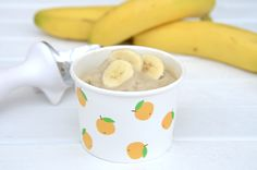 One Ingredient Banana Ice Cream - Baby Food Recipe