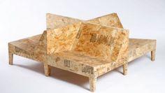 I mobili industrial di Chris Rucker