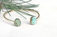 jasper bracelet gemstone bangle bracelet jasper jewelry by PYKNIC2