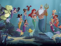 The Little Mermaid and Her Sisters | The Little Mermaid: Ariel's Beginning