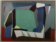 Luis Lopez - Loza. Abstract o/c : Lot 922