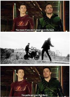Arrow - Oliver and Barry #Flarrow ♥