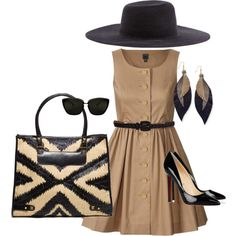 summer sophisticate, created by adela-waller on Polyvore