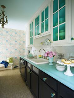 cute coloring for kitchens