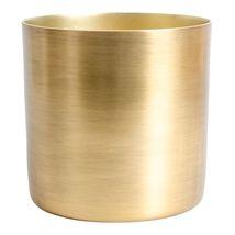 Krukke i børstet gull M