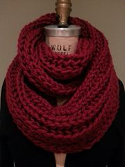 Ravelry: Superb Infinity Scarf pattern by Anne G.