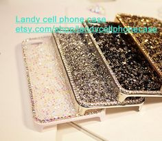 High quality bling rhinestone iphone 5s case por LandySupplies