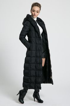c89a1bfd544 21 Best long form fitting down coats images