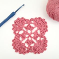 One amazing Inspiration from a Japanese Crochet Motif