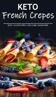 Keto French Crepes