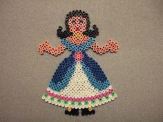 Hama beads princess by Dave Moodle Dad, via Flickr