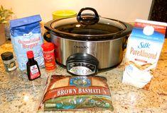 crock pot brown rice pudding
