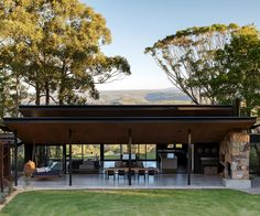 With panoramic views of the surrounding national park, rainforest and ocean, it's no wonder this home was purpose-built to make the most of the view. Australian Country Houses, Australian Homes, Modern Country, Country Style, Country Homes, Country Living, Australian Interior Design, Interior Design Awards, Sweet Home