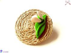 martisoare Wicker Baskets, Polymer Clay, Handmade, Sugar, Decor, Beauty, Journals, Fimo, Craft